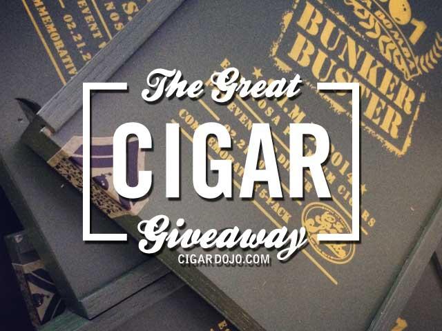 Bunker Buster Cigar Giveaway