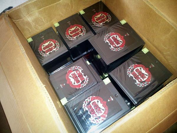 Box of Core Zero Metal cigars
