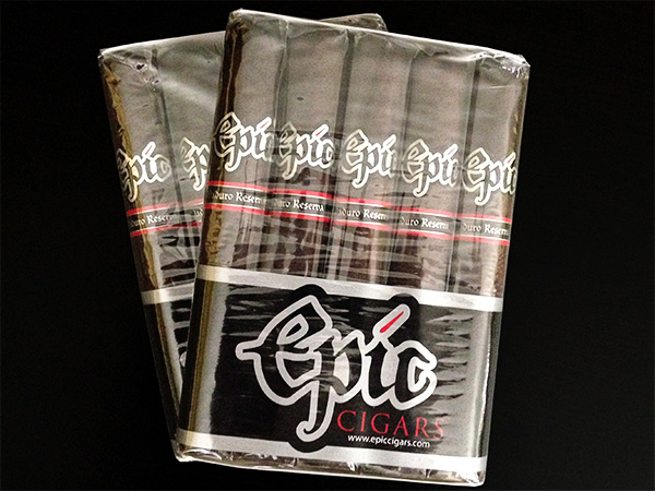 Epic Cigars Maduro Reserva 5 pack