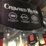 Crowned Heads booth 2014 IPCPR
