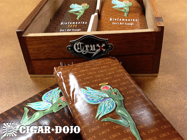 Crux Cigars Ninfamania cigar packaging