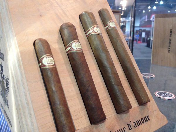 Illusione Fume D'Amour cigars IPCPR 2014
