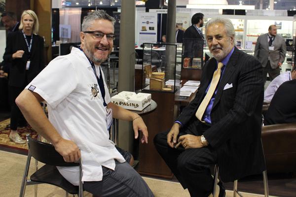 La Palina Cigars Bill Paley and Master Sensei IPCPR 2014