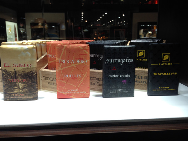 L'Atelier 5-pack cigars IPCPR 2014