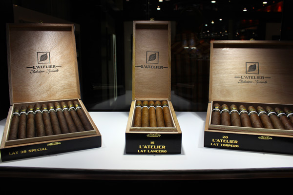 L'Atelier LAT SS cigars IPCPR 2014