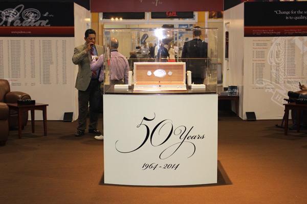 Padrón 50th Anniversary display IPCPR 2014
