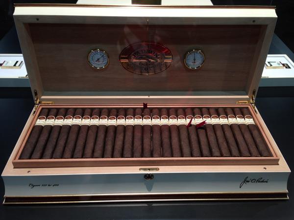 Padrón 50th Anniversary humidor and cigars IPCPR 2014