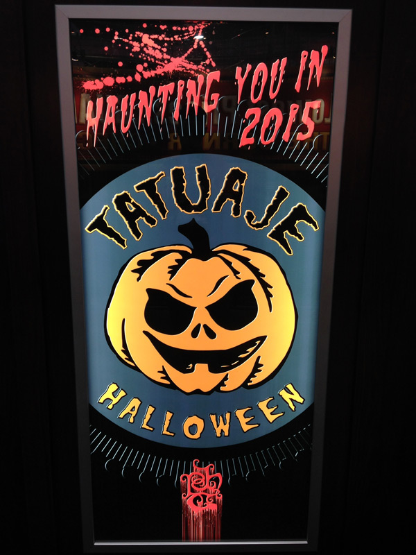 Tatuaje Halloween cigars poster IPCPR 2014