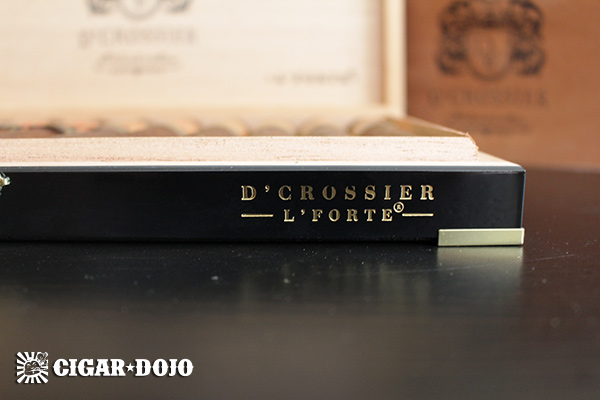 D'Crossier L'Forte cigar box