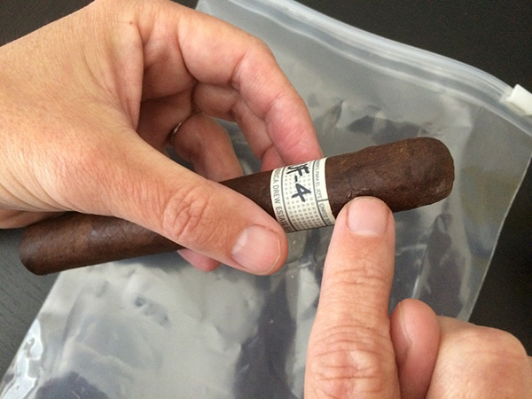 repairing a damaged cigar wrapper