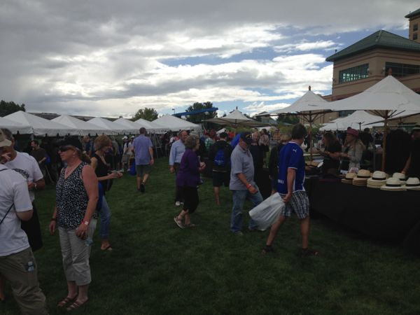 2014 Rocky Mountain Cigar Festival attendees