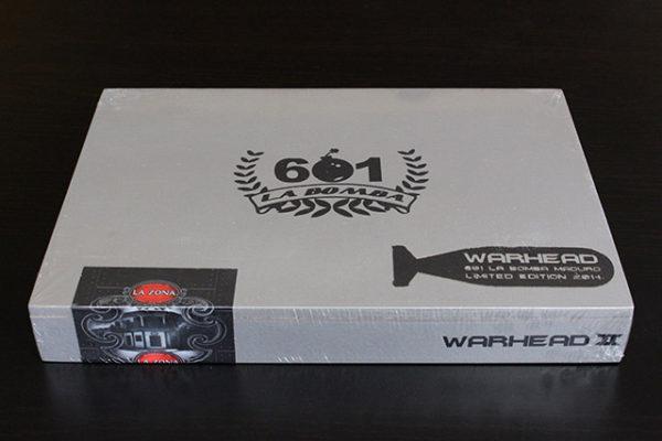 601 La Bomba Warhead II cigar box