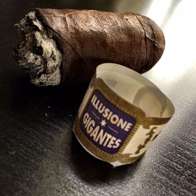 Illusione *G* Gigantes cigar review and rating