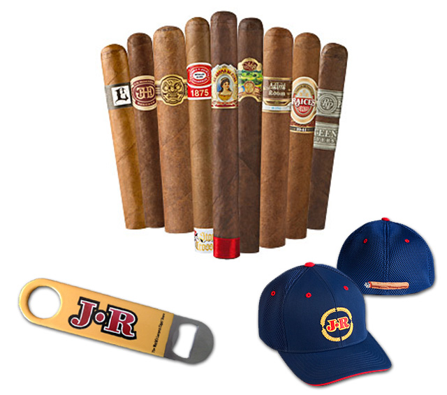 JR Cigar Dojo sampler giveaway