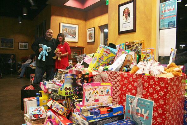 Smoke Inn Toy Drive for Kid's Cancer Foundation