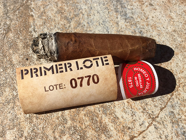 Romeo y Julieta Primer Lote 770 cigar review and rating