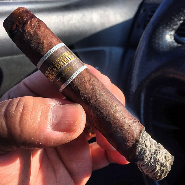 Sarsaparilla cigar review