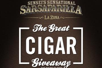 Sensei's Sensational Sarsaparilla Cigar Giveaway