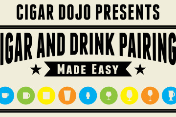 Cigar and drink pairings infographic