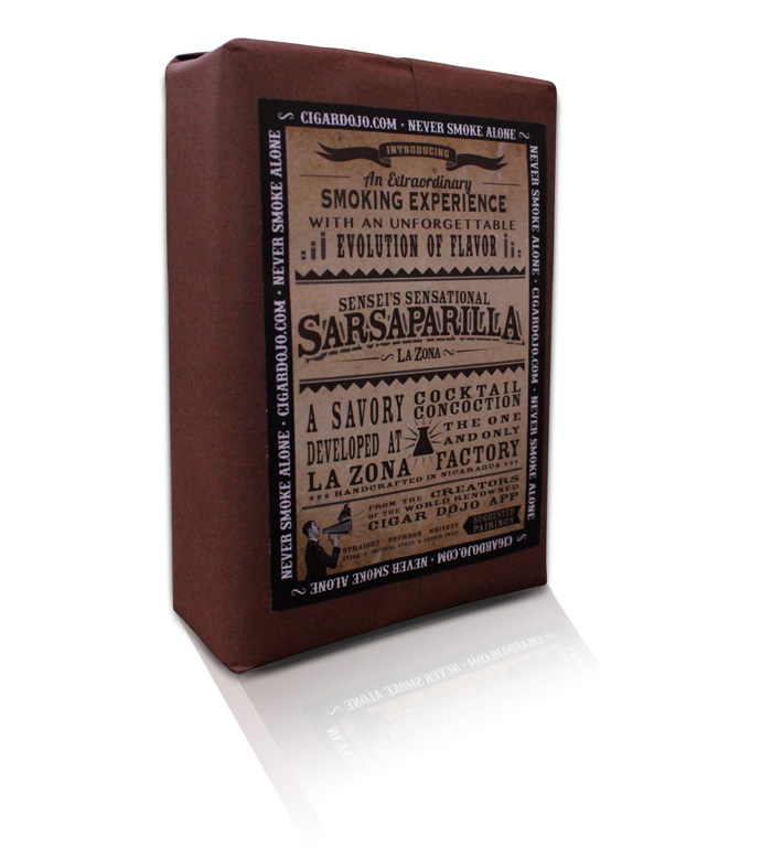 Cigar Dojo Sensei's Sensational Sarsaparilla cigar giveaway