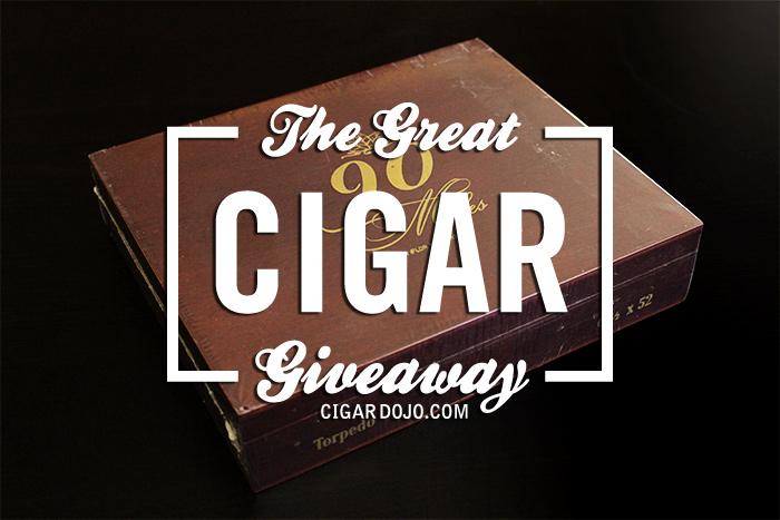90 Miles cigar giveaway