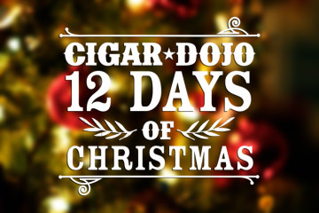 Cigar Dojo 12 Days of Christmas and cigars giveaway 2014