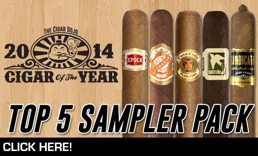 Best cigars of 2014 sampler