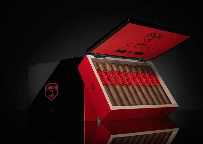 Camacho Corojo Gordo box of cigars