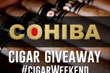 Cohiba cigar giveaway