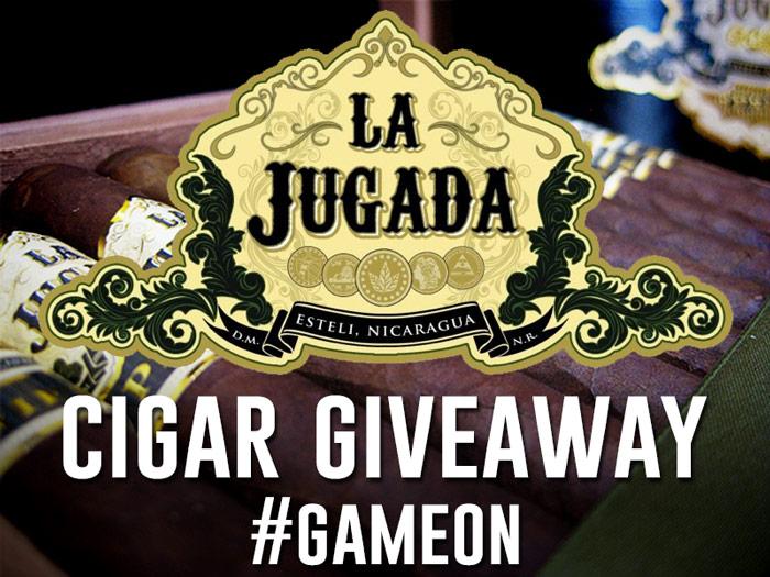 La Jugada cigar giveaway