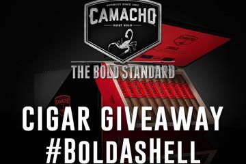 Camacho Corojo Gordo cigar giveaway