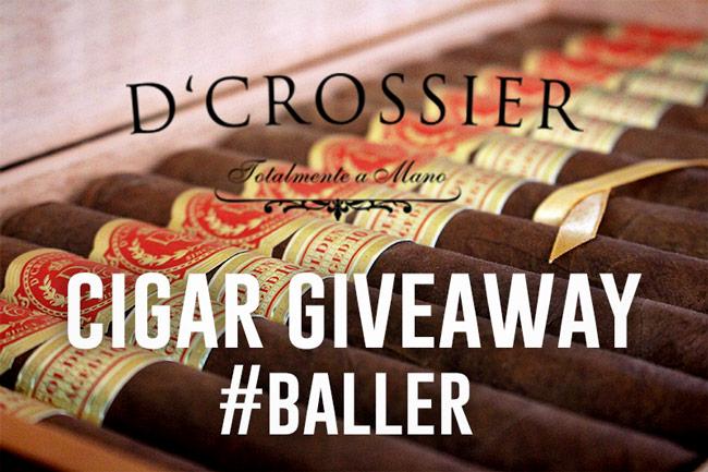 D'Crossier cigar contest