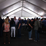 The Great Smoke 2015 cigar tents