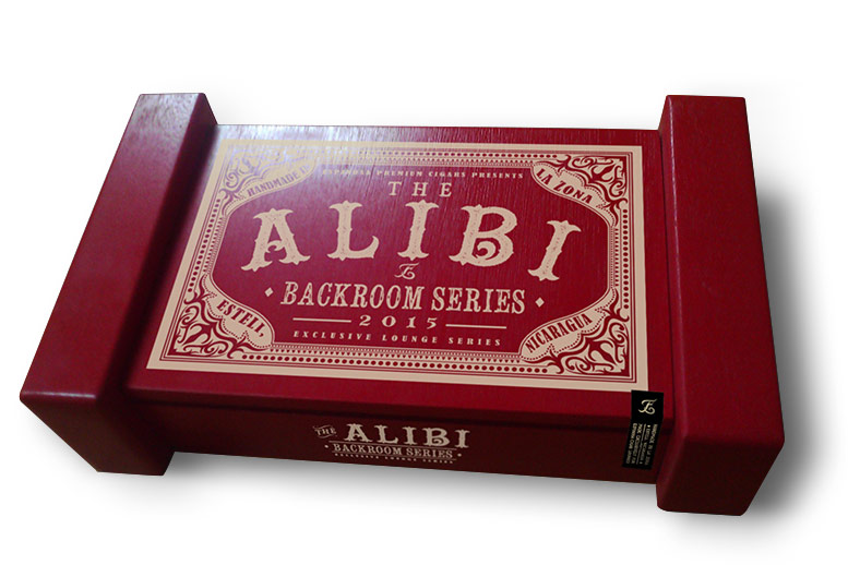 Espinosa The Alibi cigar box