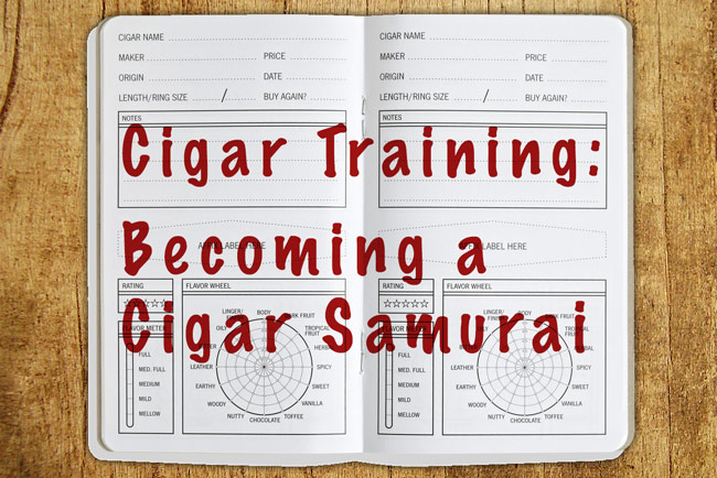 Cigar training and mastering cigar smoking