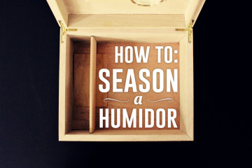 How to Season a Cigar Humidor