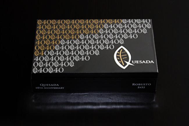 Quesada 40th Anniversary box of cigars