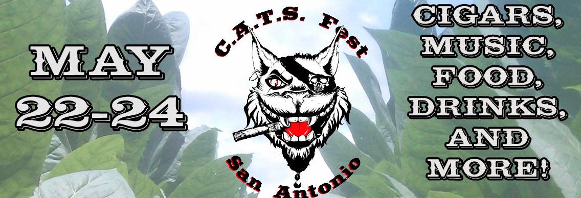 CATS Festival 2015 cigar event