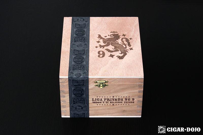 Liga Privada No. 9 Belicoso box of cigars