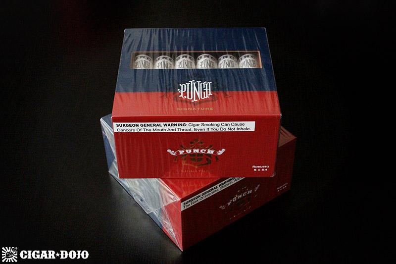 Punch Signature robusto box cigars