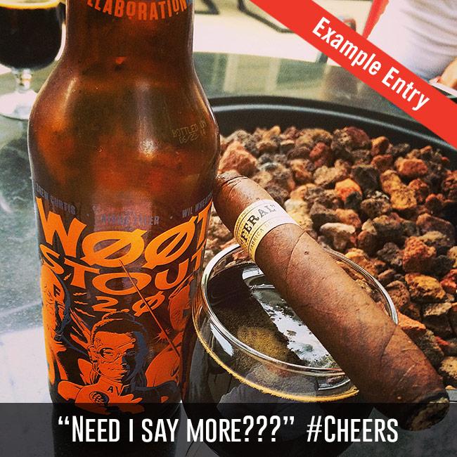 Quesada Cigars contest entry on Cigar Dojo app