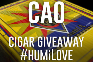 CAO Columbia cigars giveaway