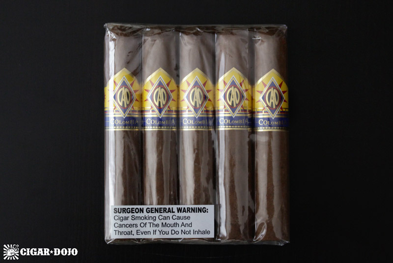 CAO Columbia 5-pack cigars
