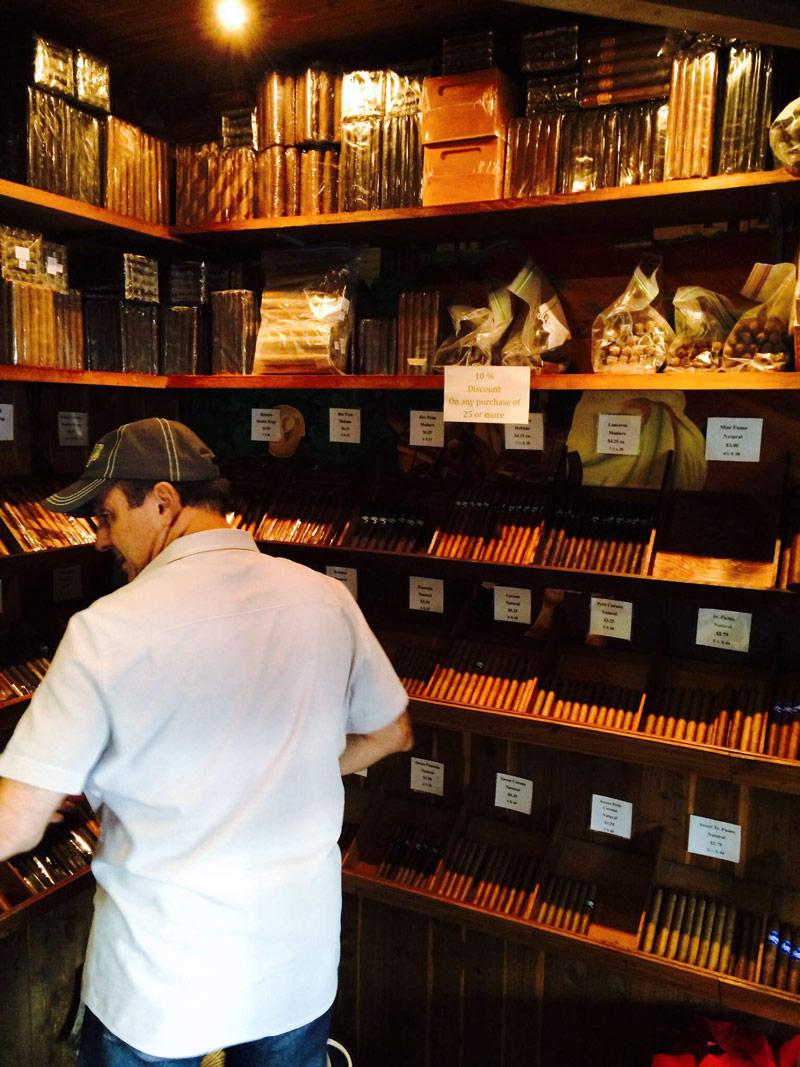 Mursuli Cigars cigar shop humidor