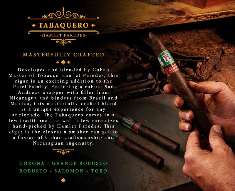 Tabaquero by Hamlet Paredes cigar announcement