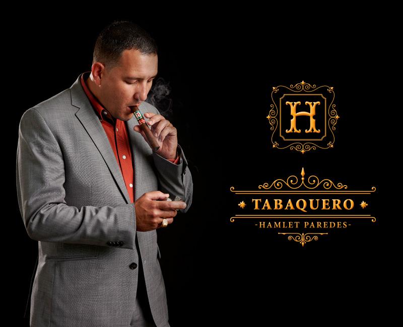 Tabaquero by Hamlet Paredes cigar