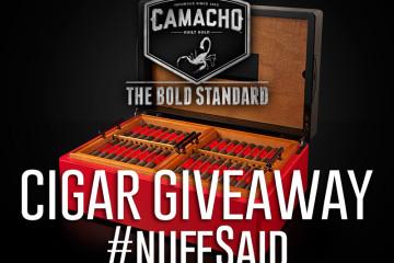 Camacho Cigars Humidor Giveaway