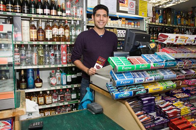 Cigar convenience store clerk