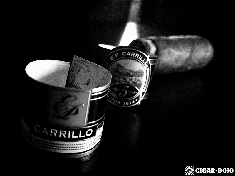 E.P. Carrillo 5 Year Anniversary cigar review and rating