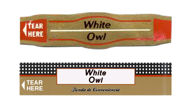 Fake White Owl cigar band